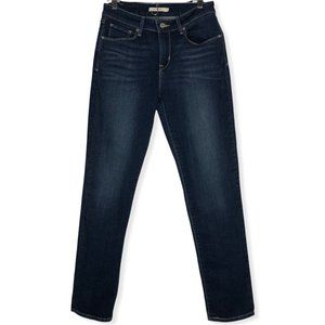 Levi's Mid Rise Stretch Skinny Jeans